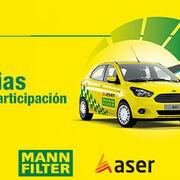 """Mann+Hummel Ibérica y Aser entregan un coche de sustitución al ganador de """"Cambio filtro por coche"""""""