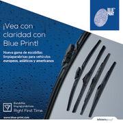 Blue Print introduce sus nuevas escobillas limpiaparabrisas