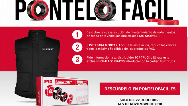 Schaeffler promociona FAG SmartSET en los talleres Top Truck