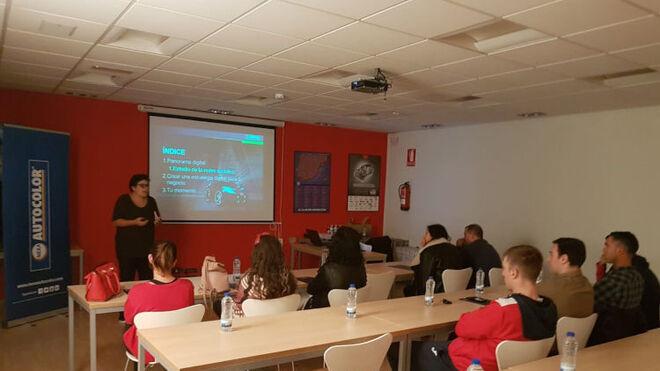 Nexa Autocolor forma en marketing digital a 40 talleres clientes de AD Grupo Regueira