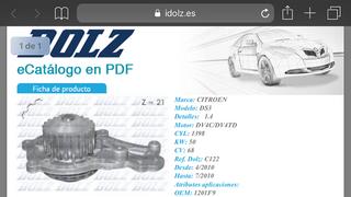 Industrias Dolz presenta su nueva aplicación para dispositivos móviles