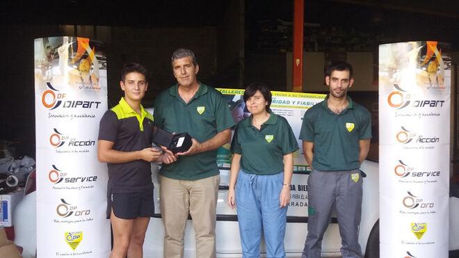Talleres DP entrega los premios de su campaña Rasca y Gana 2018