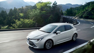 KYB recibe un premio de Toyota por los amortiguadores del nuevo Corolla Sport