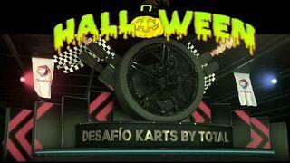 Desafío Karts by Total en Cabanillas: espeluznante carrera de Halloween