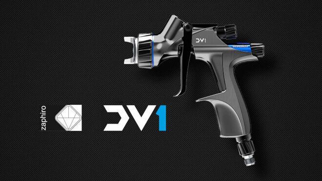 Zaphiro trae a España la DV1, la revolución de DeVilbiss en pistolas para base agua