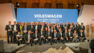 Volkswagen Group España Distribución homenajea a sus concesionarios fundadores