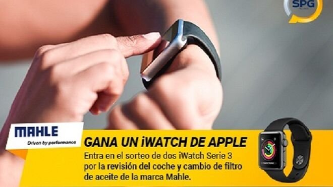 SPG y Mahle sortean dos Apple iWatch Serie 3