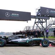 Mercedes-AMG Petronas Motorsport: pintando a todo gas