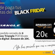 Triangle paga tus compras del Black Friday en Amazon