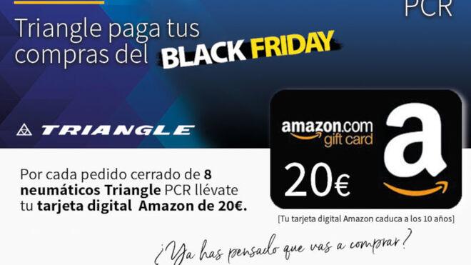Triangle paga tus compras del Black Friday en Amazon