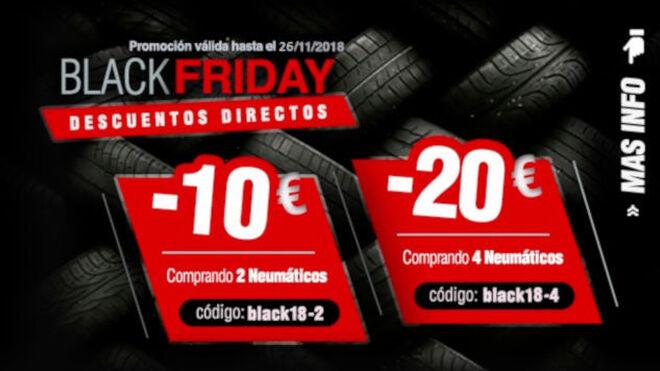 BlackTire ofrece descuentos en neumáticos durante toda la semana del Black Friday
