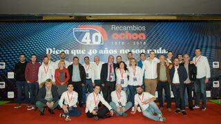 Recambios Ochoa celebra por todo lo alto su 40 aniversario