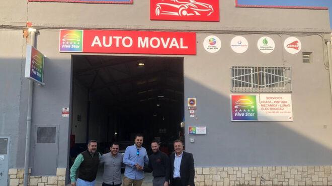 Auto Moval, nuevo socio de la red Five Star de Cromax