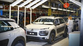 Las fábricas españolas de vehículos recuperan la tendencia de crecimiento en su producción