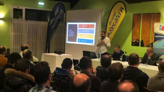 Movelco presenta a los talleres asturianos su solución de Box Eléctrico