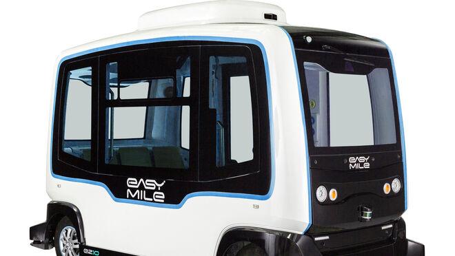ECOMOTOR: Un autobús eléctrico sin volante ni pedales circulará por Madrid durante dos días y se podrá probar