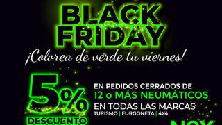 El Black Friday aterriza de nuevo en NEX