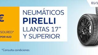 Norauto ofrece hasta 60 euros en cheques carburante al comprar neumáticos Pirelli