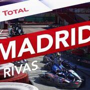 Desafío Karts by Total en Madrid: un adelantamiento tras otro
