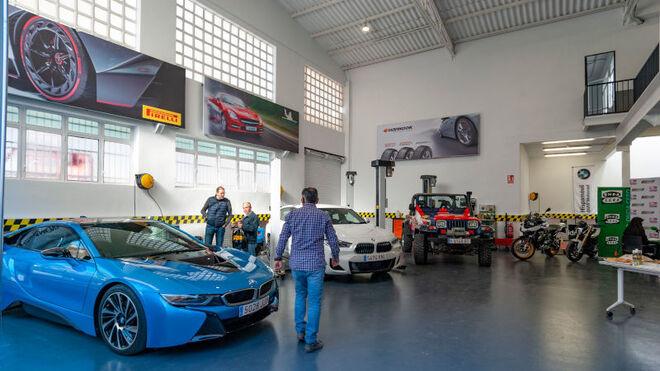 Neumáticos Soledad inaugura su nuevo centro Confortauto Hankook Masters en Elche