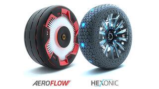 Hankook presenta sus conceptos de neumáticos futuristas en el Salón de Essen