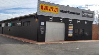Neumáticos Olmedo luce ahora la nueva imagen corporativa Driver Center