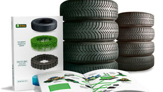 TNU gestionó 72.618 toneladas de neumáticos fuera de uso en 2017