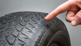 1 de cada 5 coches sigue circulando con los neumáticos en mal estado