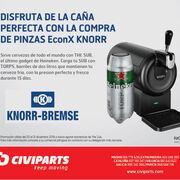 """Civiparts ofrece """"la caña perfecta"""" por la compra de pinzas Econx Knorr"""
