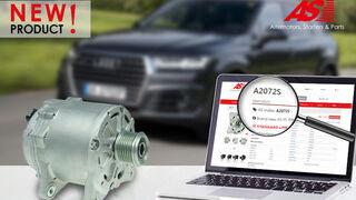 Nuevo alternador de AS-PL para el Audi Q7