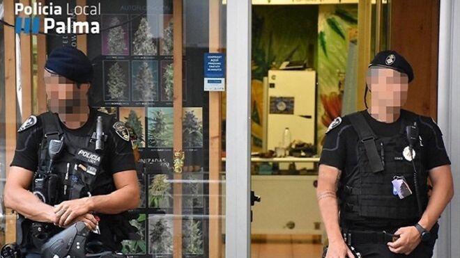Dos operarios de un taller de Palma retienen a un ladrón en sus instalaciones