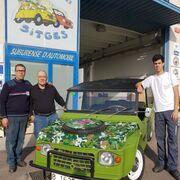 Tres generaciones de un taller ejemplar en Sitges