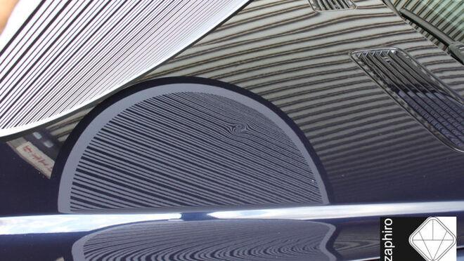 El nuevo panel reflectante de Zaphiro detecta rápidamente las pequeñas abolladuras