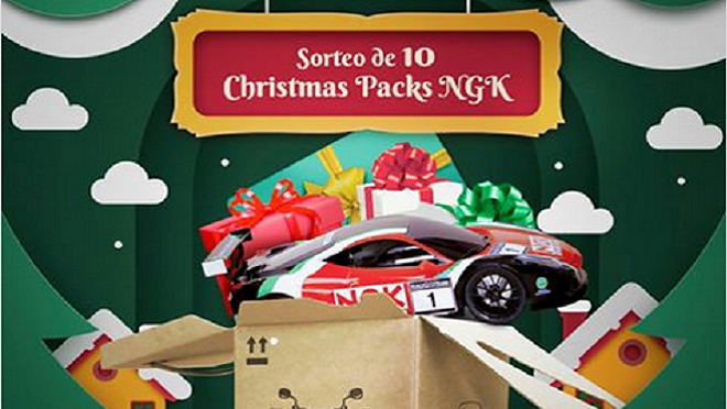 NGK-NTK sortea entre sus clientes diez 'christmas packs'