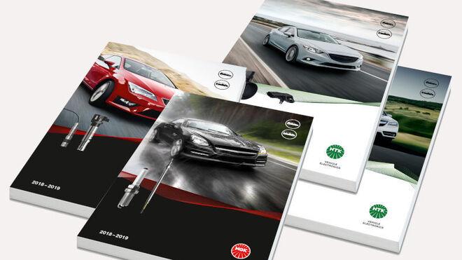 NGK Spark Plug Europe presenta cuatro nuevos catálogos