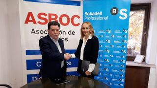 Asboc firma un convenio con Banco Sabadell para facilitar la financiación de sus asociados