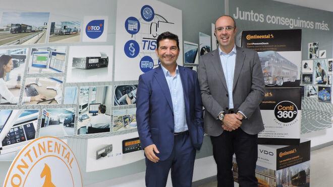 Continental ofrecerá TruckOn a sus talleres de neumáticos de vehículos comerciales
