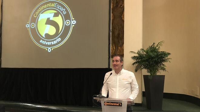 Continental Neumáticos España repetirá facturación en 2018: 380 millones de euros
