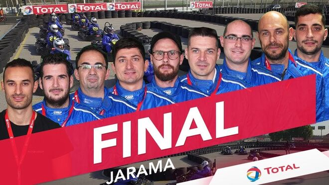 Desafío Karts by Total: Final 2018 en el Jarama