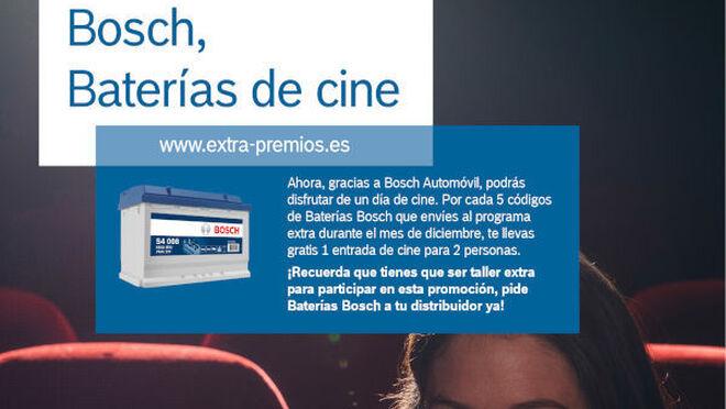 Bosch invita al cine por la compra de baterías