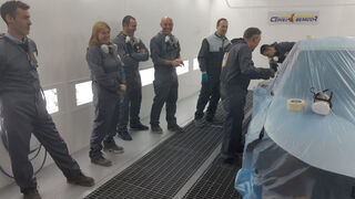 Glasurit imparte el seminario Intercambio de Experiencias Mercedes-Benz