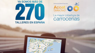 Acoat Selected supera los 270 talleres asociados en España