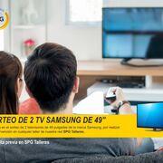 SPG talleres sortea dos televisores Samsung entre sus clientes