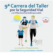 La IX Carrera del Taller reivindicará la función social de los talleres el próximo 10 de marzo