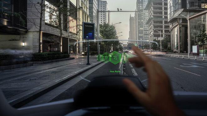 Hyundai estrena el primer sistema de navegación de realidad aumentada holográfica