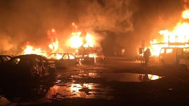 El fiscal reclama 700.000 € a los responsables de un incendio en un desguace