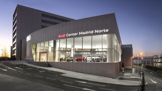 Audi inaugura su vanguardista Audi Center Madrid Norte