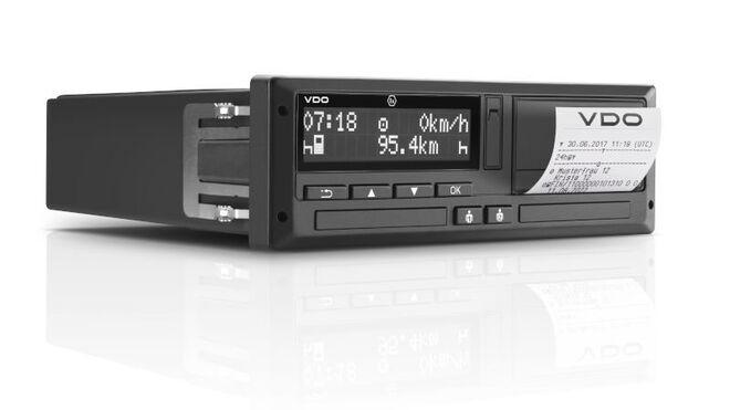 Continental obtiene la homologación de su tacógrafo inteligente VDO DTCO 4.0