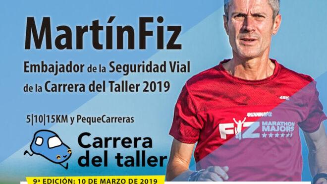 Martín Fiz será el Embajador de la Seguridad Vial de la IX Carrera del Taller