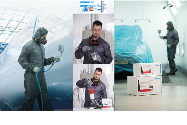 El sistema de pintura Colad Snap Lid,  clave en el Programa de Productividad de EMM